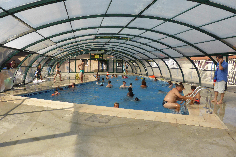 camping las landas con piscina climatizada cubierta r sasol