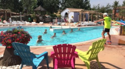 Animations de piscine au camping