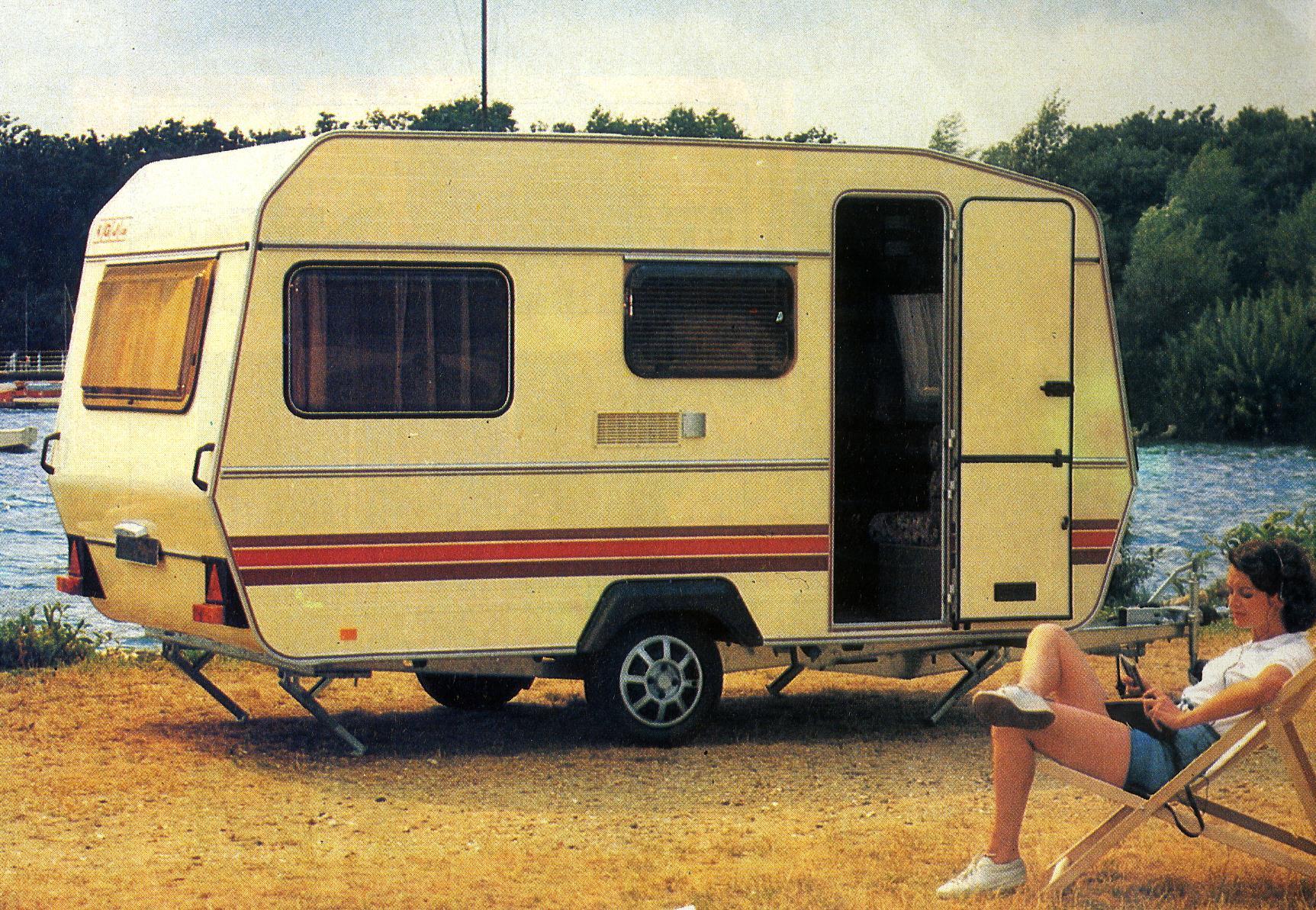 Caravane Georges et Jacques années 80
