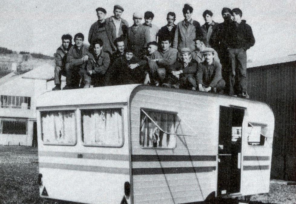 Caravane Arrez années 70