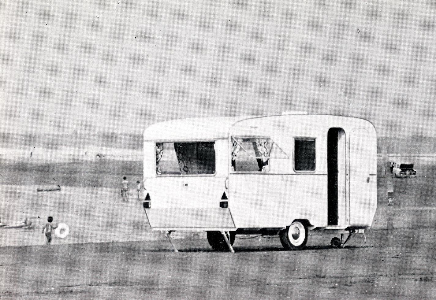 Caravane Baillou années 70