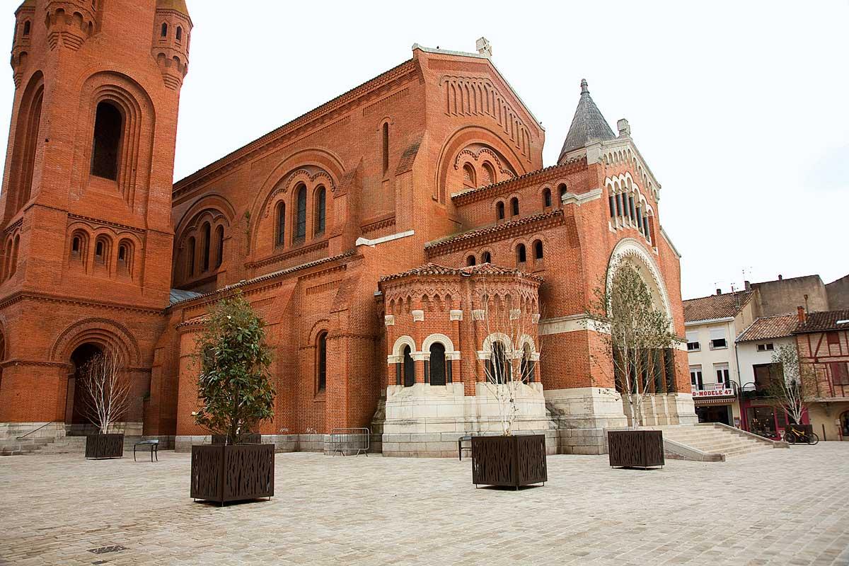 L'église Sainte-Catherine d'Alexandrie à Villeneuve-sur-Lot