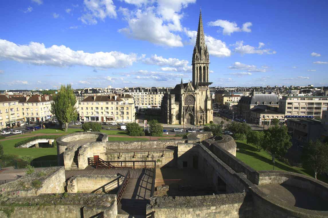 centre ancien de Caen