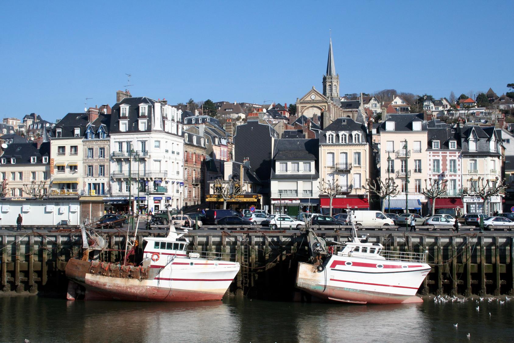 Trouville-sur-Mer dans le Calvados
