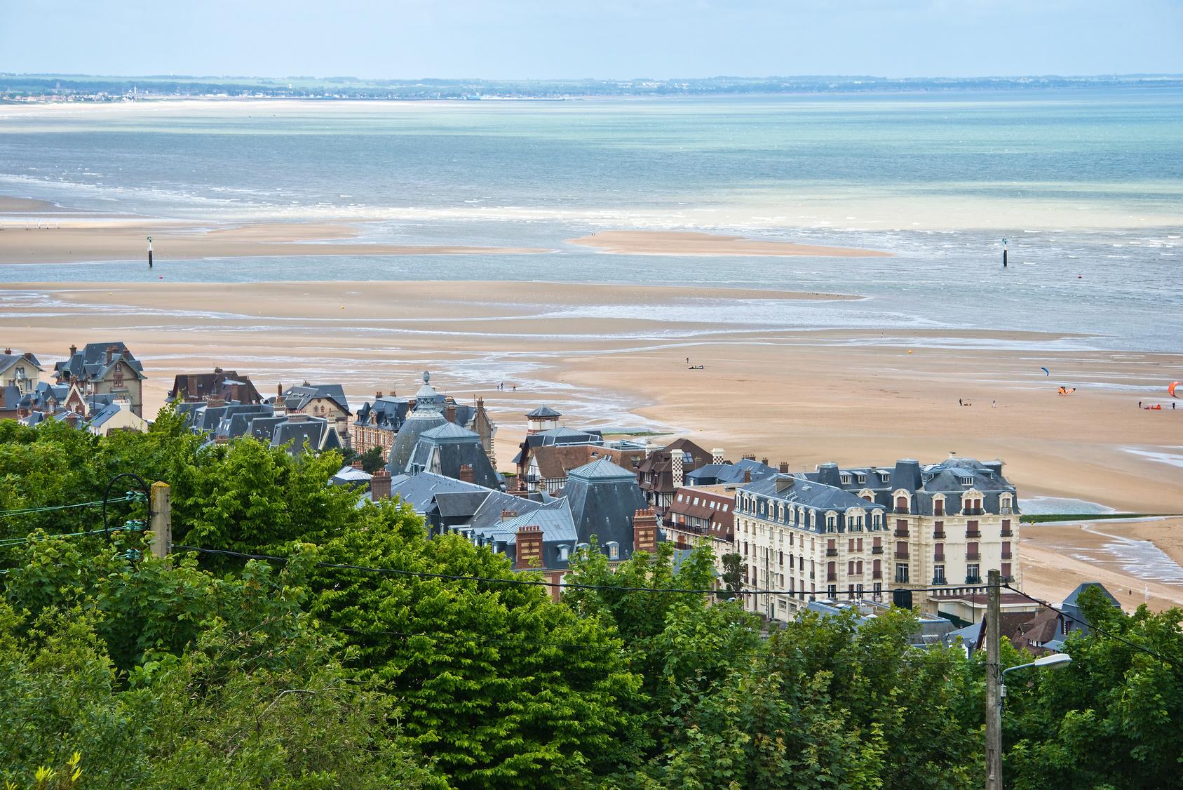 Houlgate dans le Calvados en Normandie