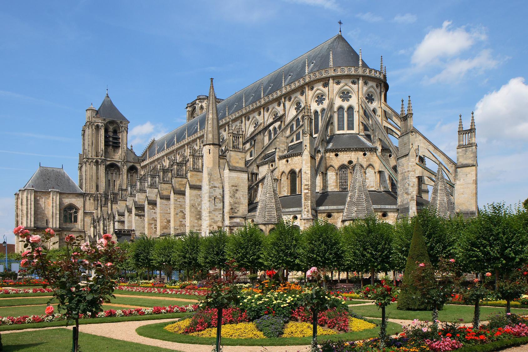 La cathédrale de Bourges dans le Cher