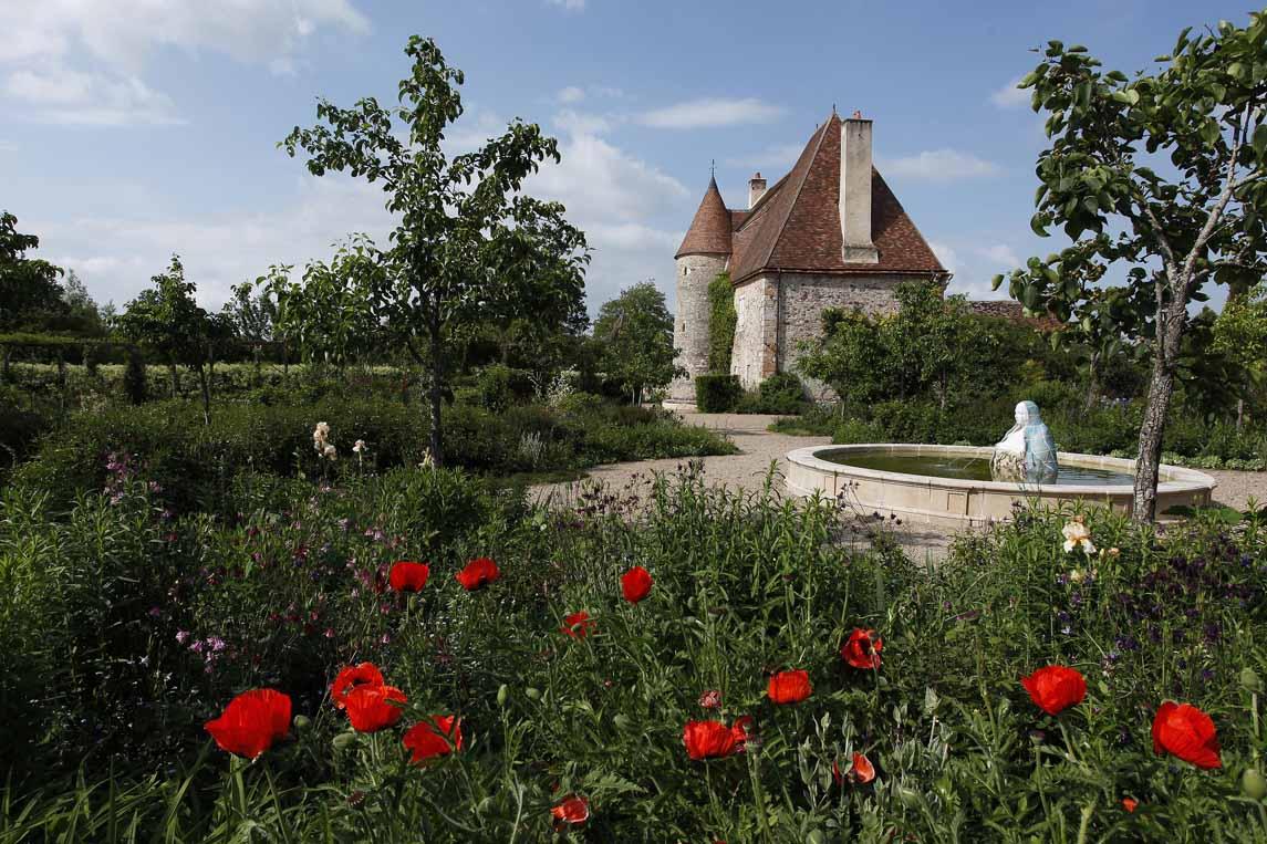 jardins artistiques de Drulon à Loye-sur-Arnon