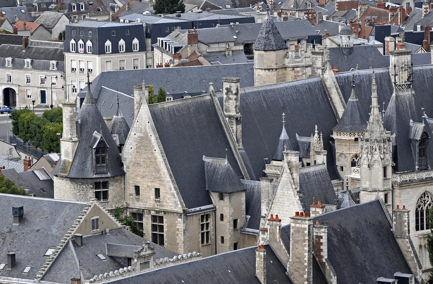 Le palais Jacques-Cœur à Bourges dans le Cher