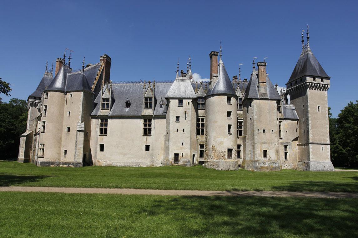 Le château de Meillant