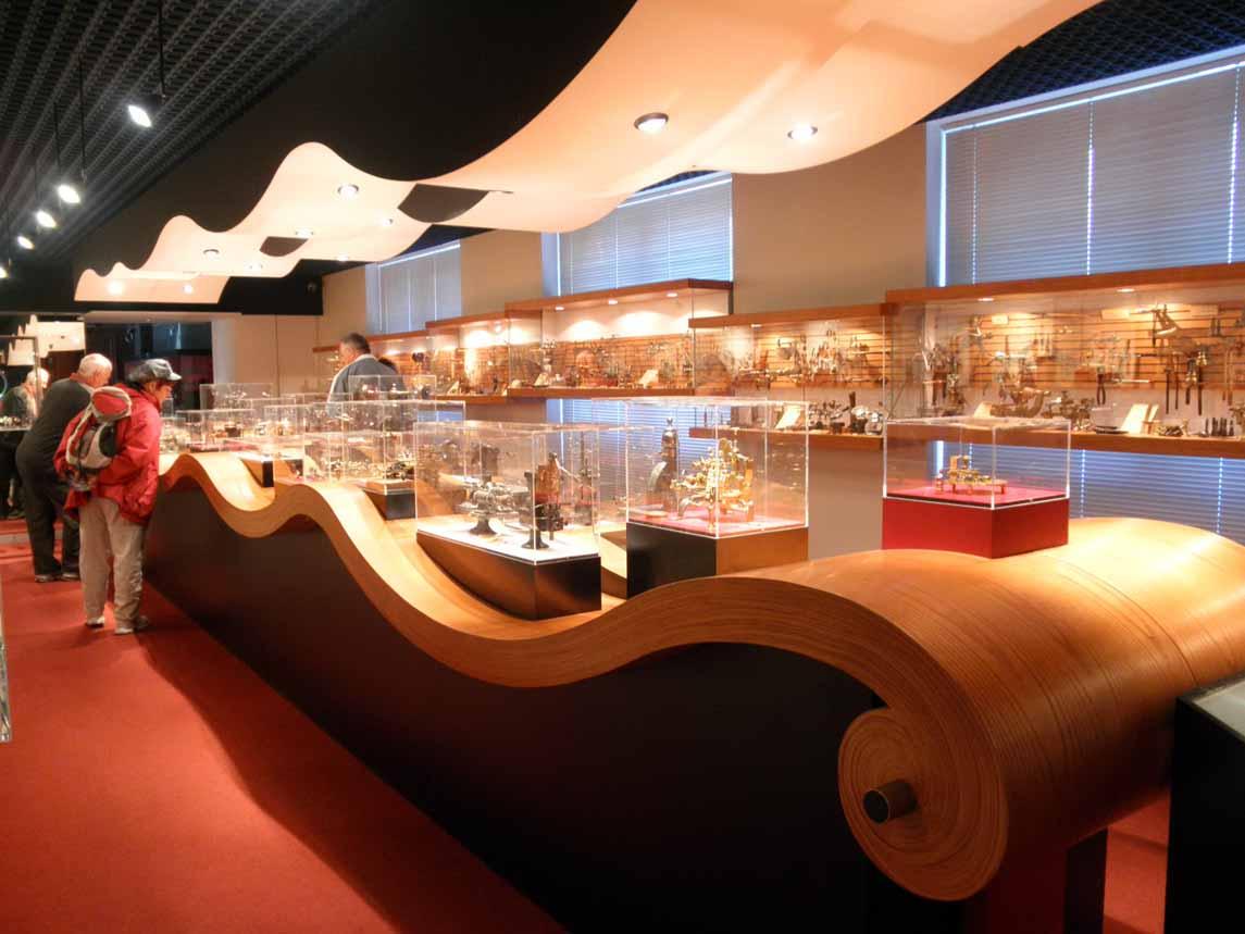 Le Musée de la Montre à Villers-le-Lac dans le Doubs