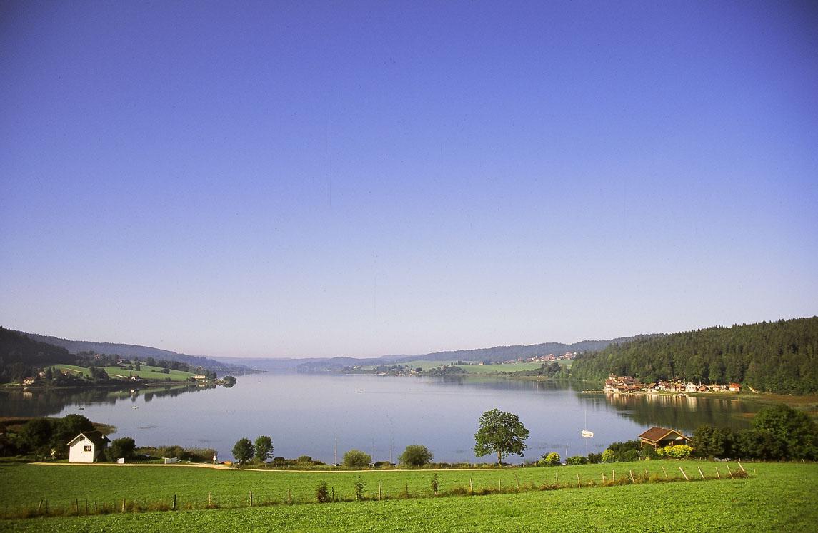 Le lac Saint-Point dans le Doubs