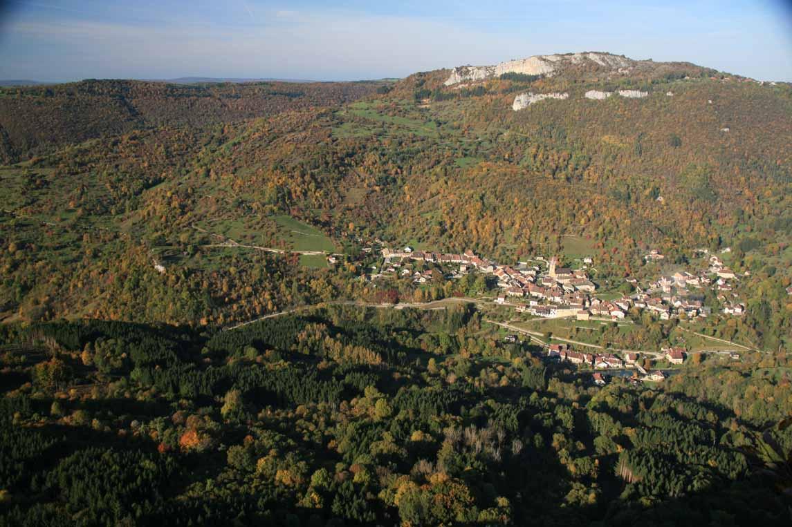 La Vallée de la Loue en Franche-Comté