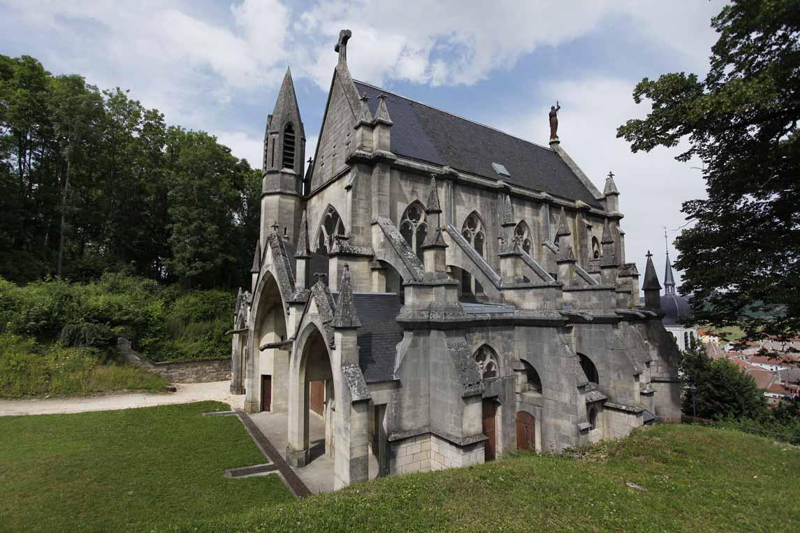 La chapelle castrale de Vaucouleurs