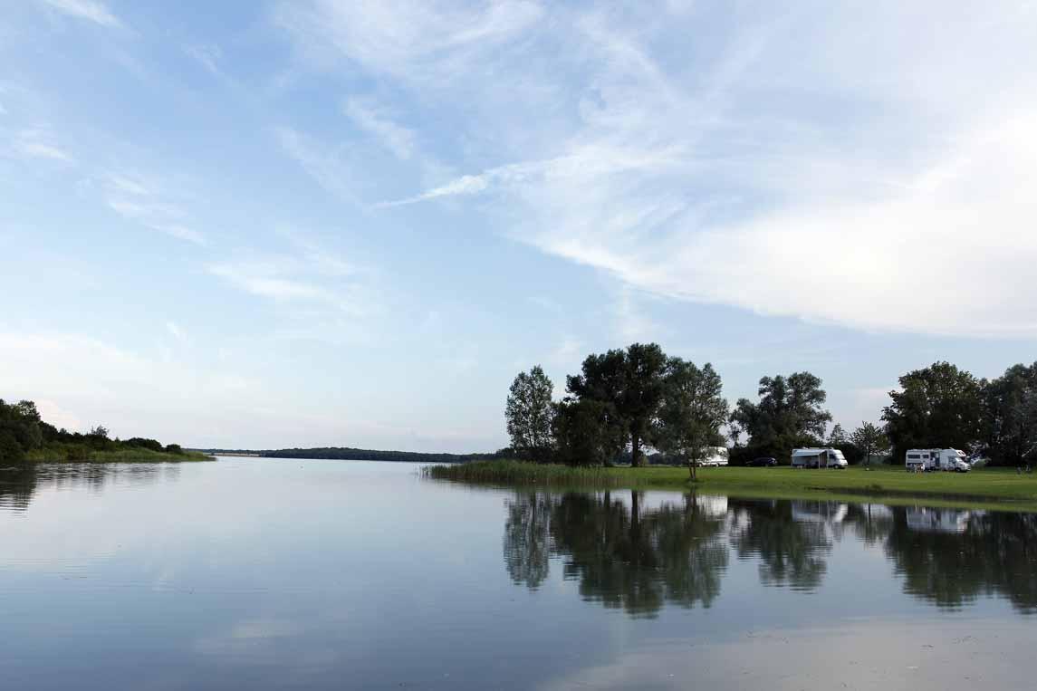 Le lac de Madine à Nonsard dans la Meuse
