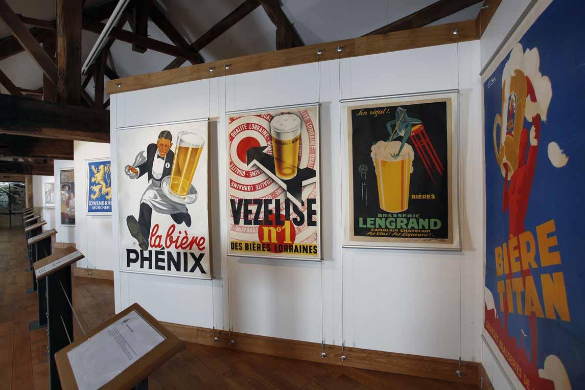 Au musée européen de la bière à Stenay