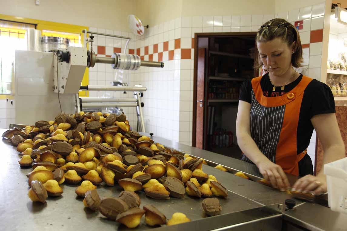 La ville de Commercy réputée pour sa madeleine