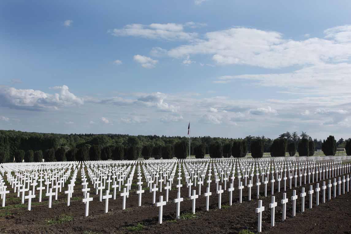L'ossuaire de Douaumont à Fleury-devant-Douaumont
