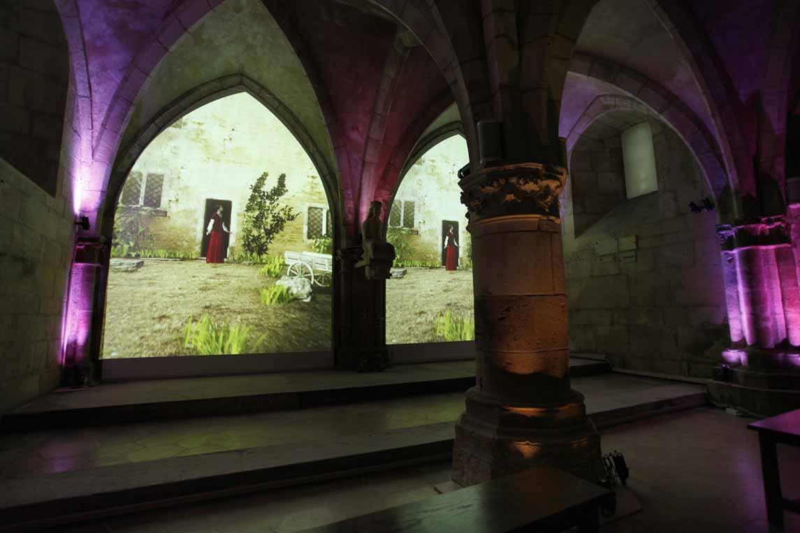 Les vitraux de la chapelle castrale de Vaucouleurs racontent l'histoire de Jeanne d'Arc