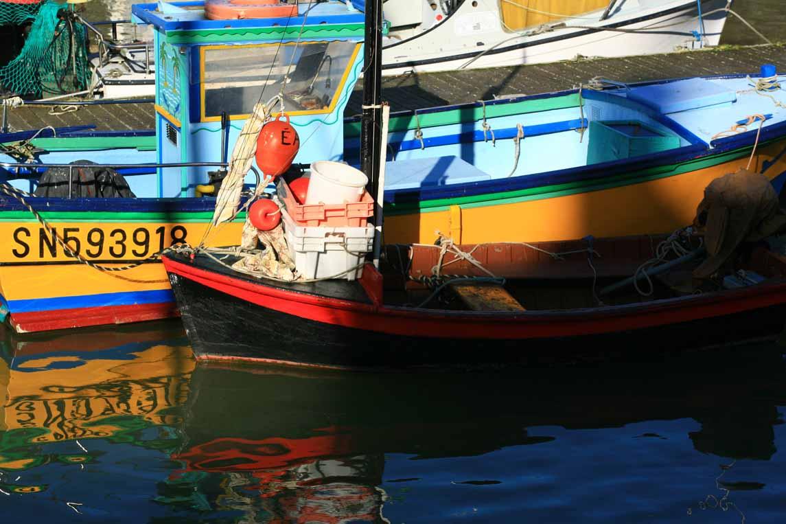 Le port du Croisic sur la presqu'île de Guérande