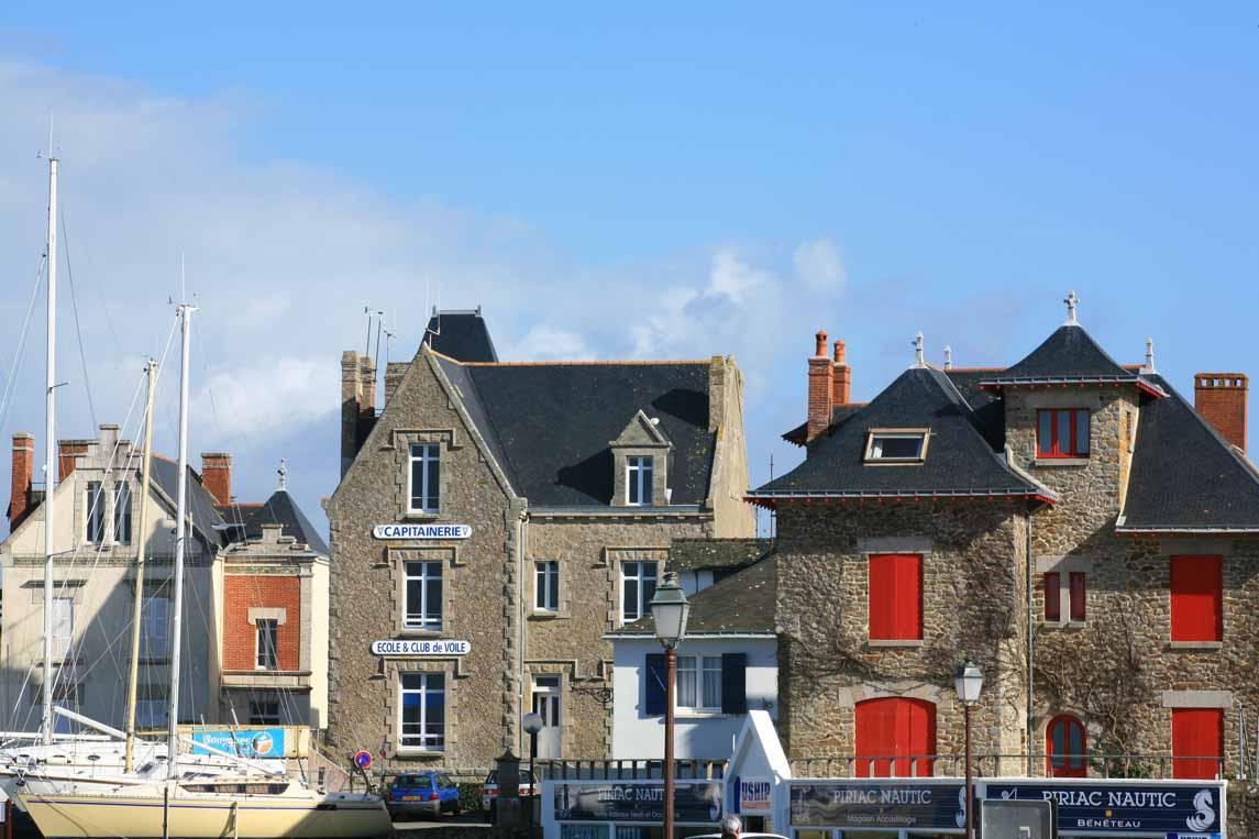 La station balnéaire de Piriac-sur-Mer sur la presqu'île de Guérande