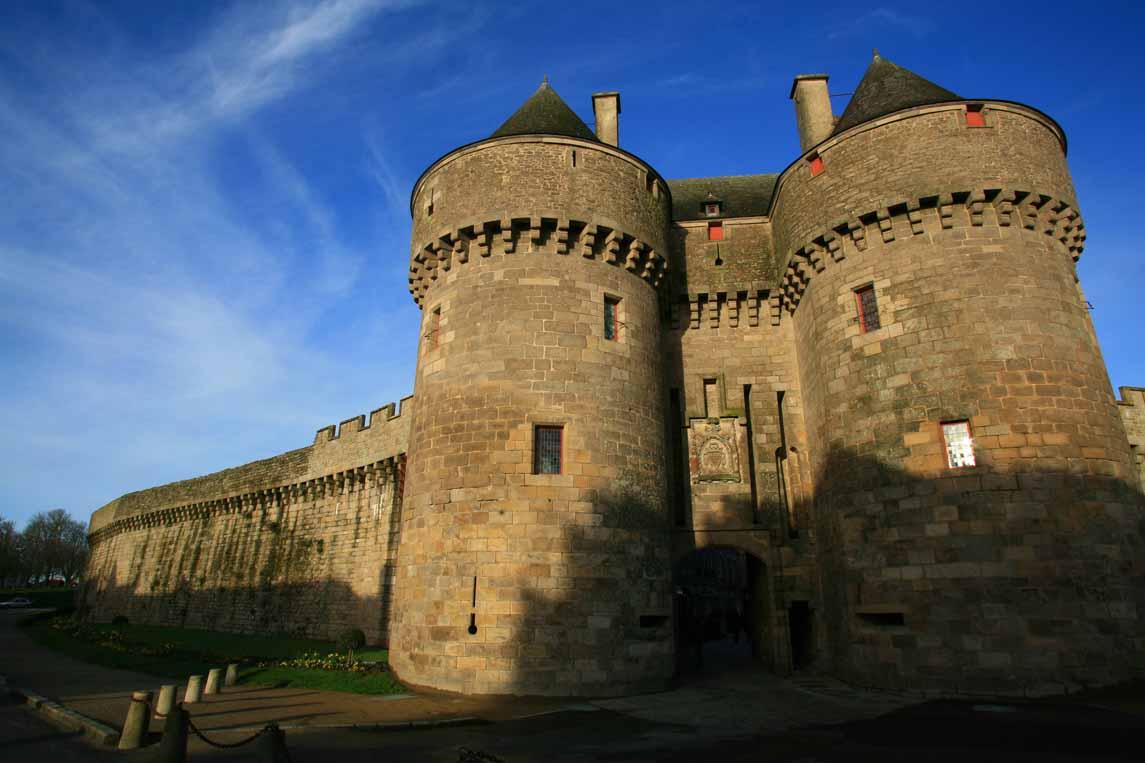 La ville fortifiée de Guérande en Loire-Atlantique