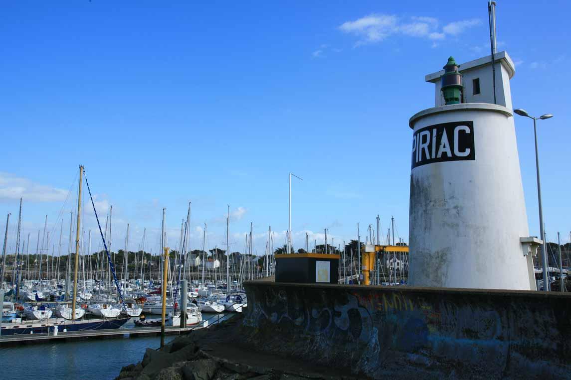 Le port de Piriac-sur-Mer en Loire-Atlantique
