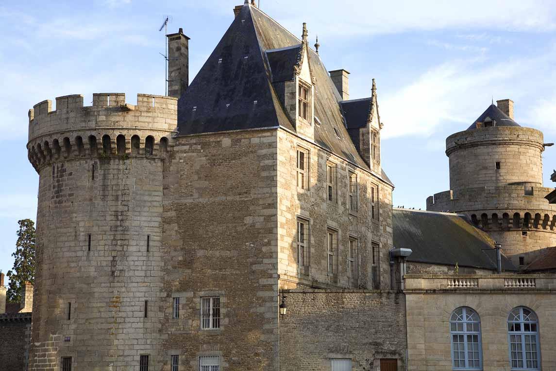 L'ancien château des Ducs d'Alençon