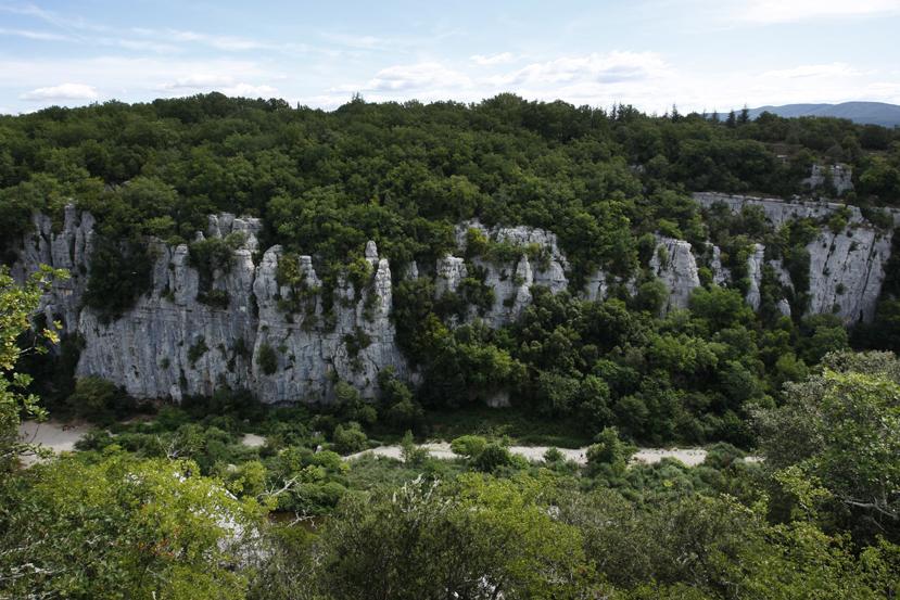 Bois de Païolive et gorges du Chassezac en Ardèche