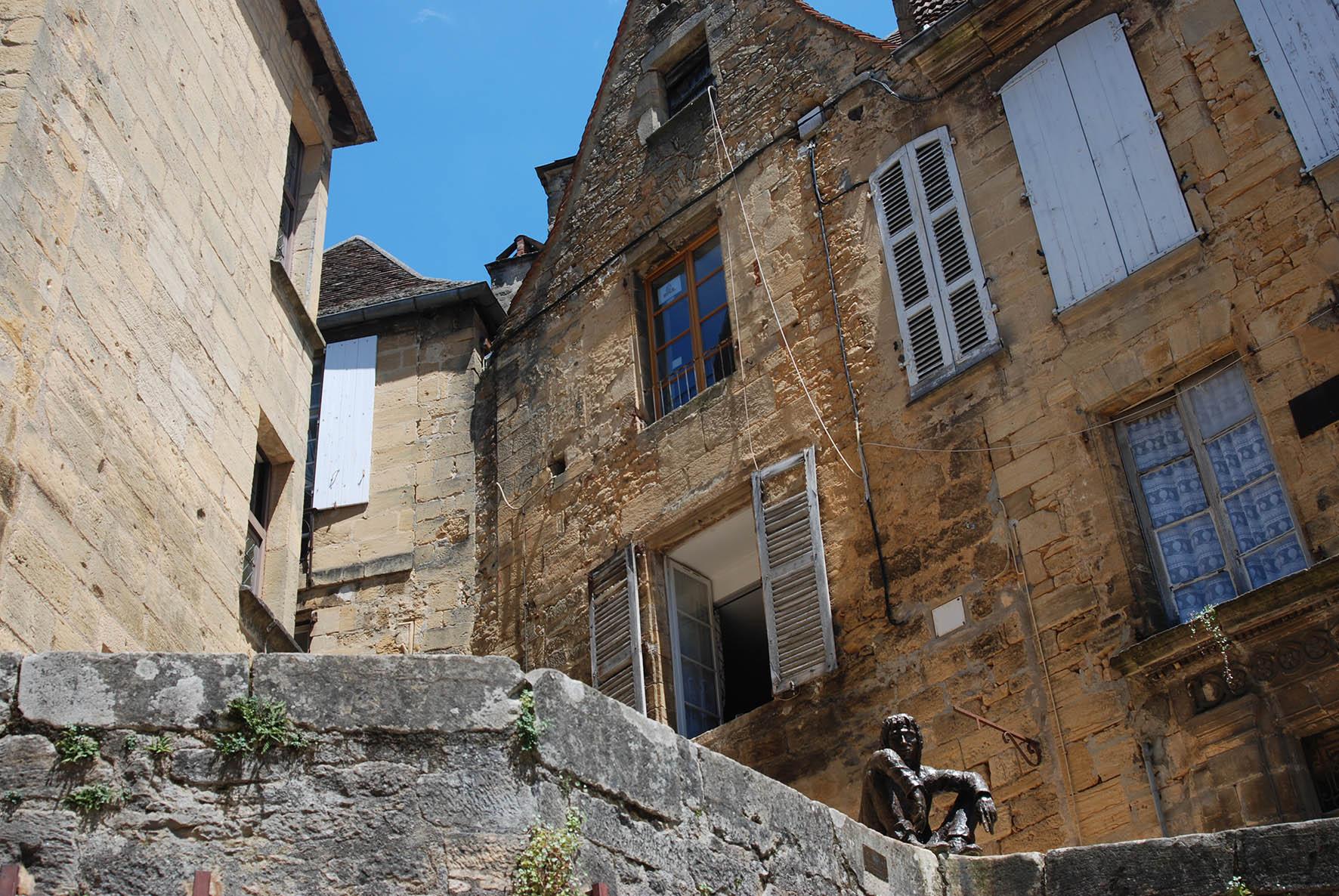 Sarlat, Le Badaud
