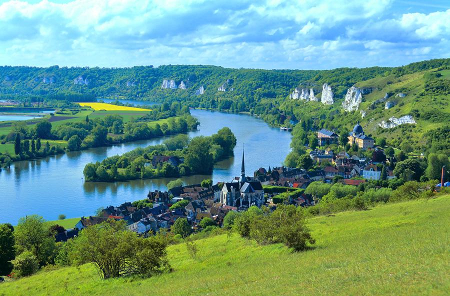 Les Andelys, commune de l'Eure