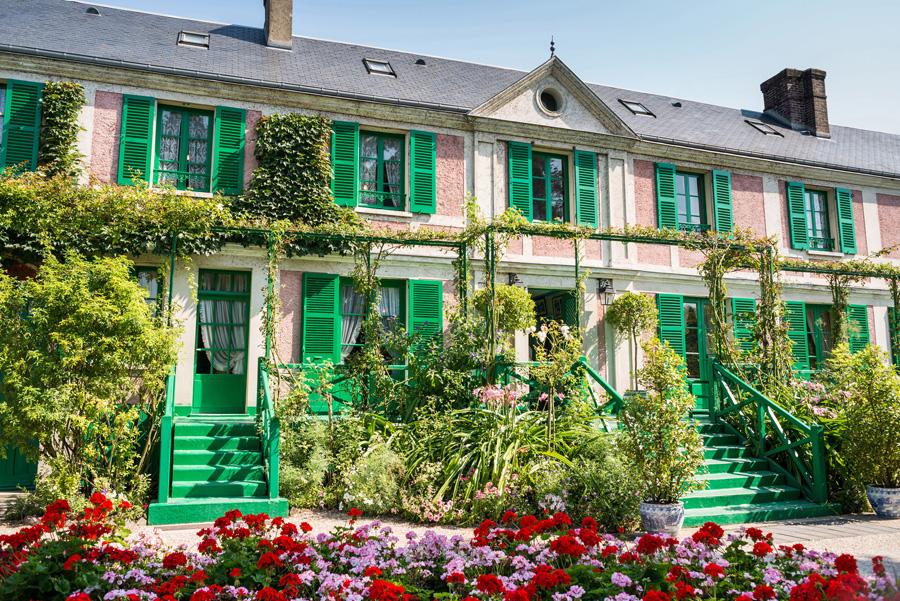 La maison de Claude Monet à Giverny dans l'Eure