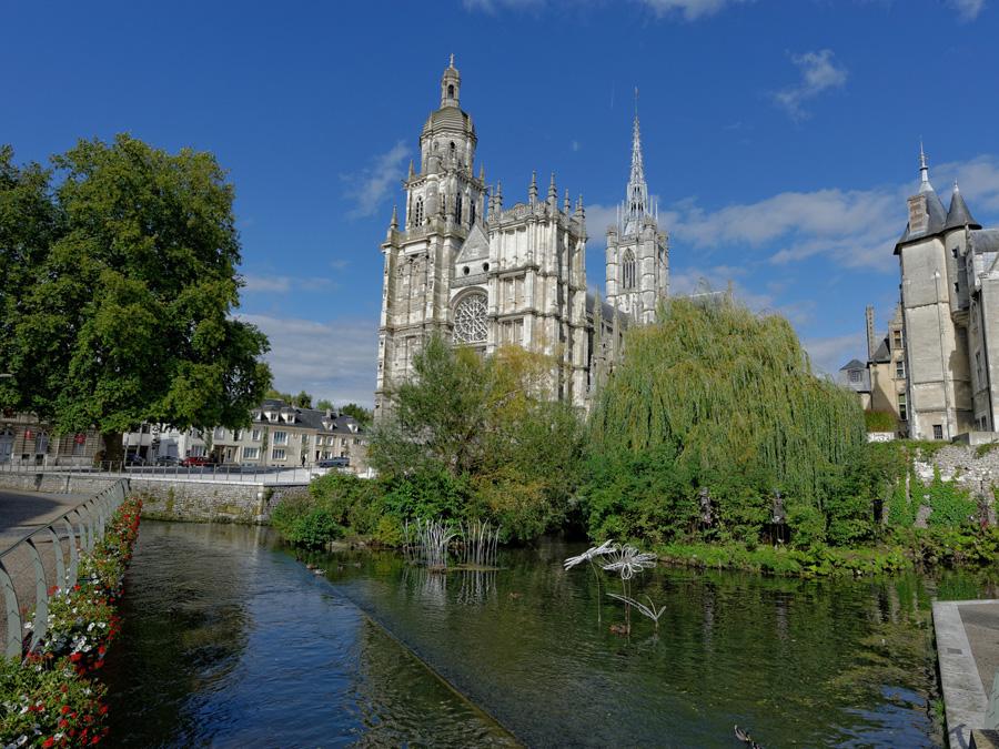 La cathédrale Notre-Dame d'Évreux
