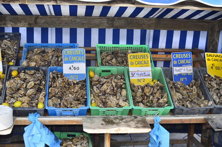 Les huîtres de Cancale