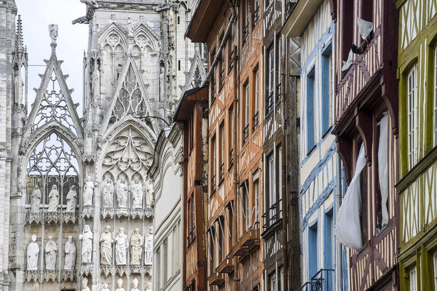 Rouen, préfecture du département de la Seine-Maritime