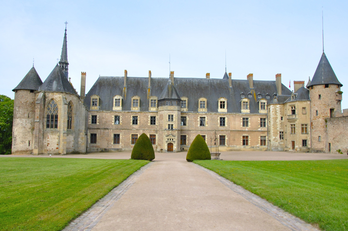Le château de Lapalisse dans l'Allier