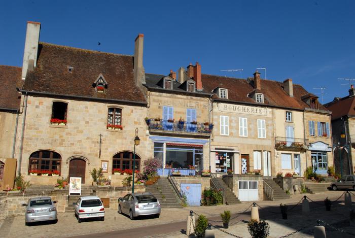 Souvigny, village médiéval du Bourbonnais
