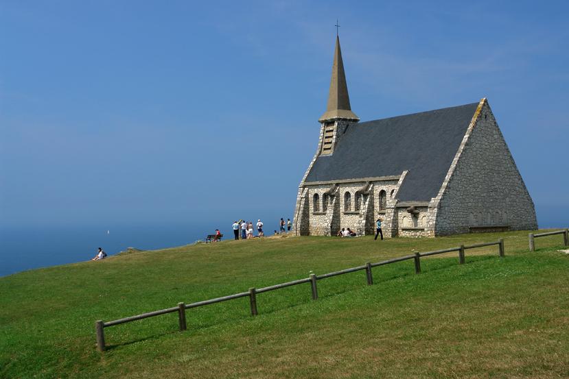 La Chapelle Notre-Dame de la Garde d'Étretat