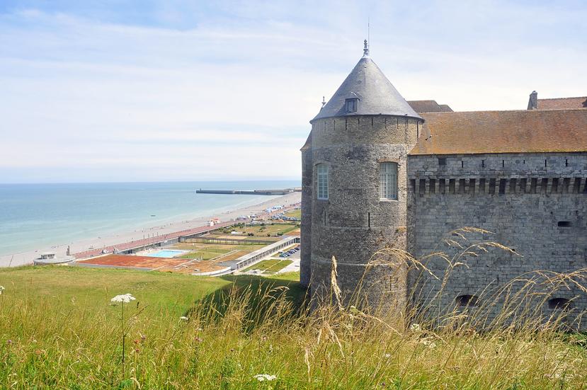 Dieppe et son château-musée en Normandie