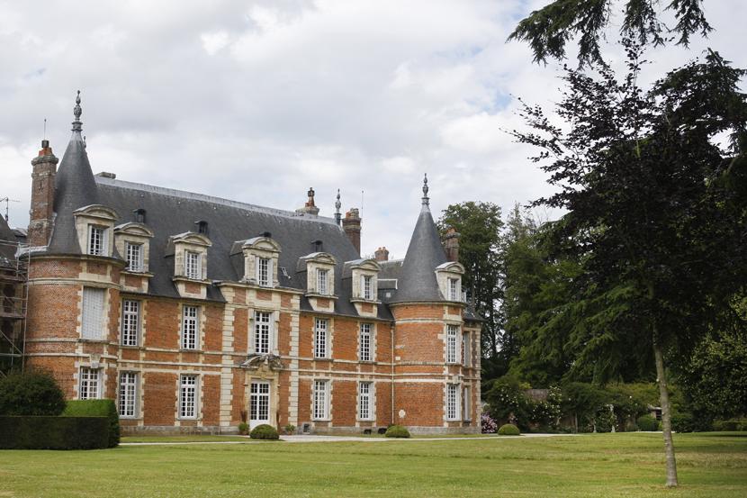 Le château de Miromesnil à Tourvilles-sur-Arques
