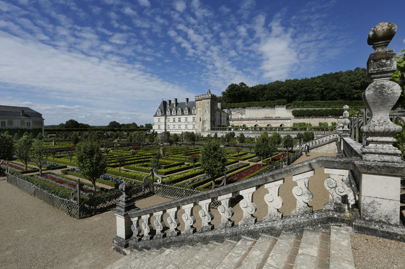 Villandry, dernier grand château de la Loire