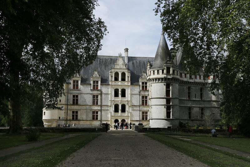 Le château d'Azay-le-Rideau, fleuron de la Renaissance