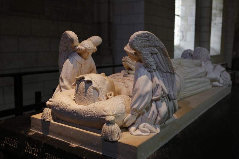 Le gisant d'Agnès Sorel à Loches