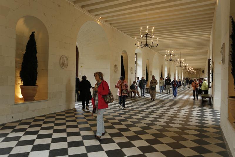 La galerie du château de Chenonceau