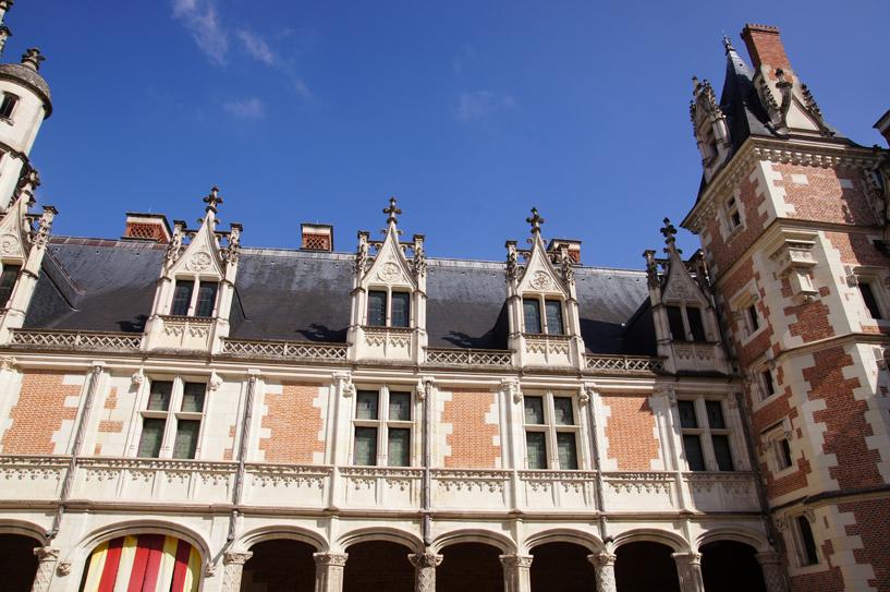 L'aile Louis XII du château royal de Blois