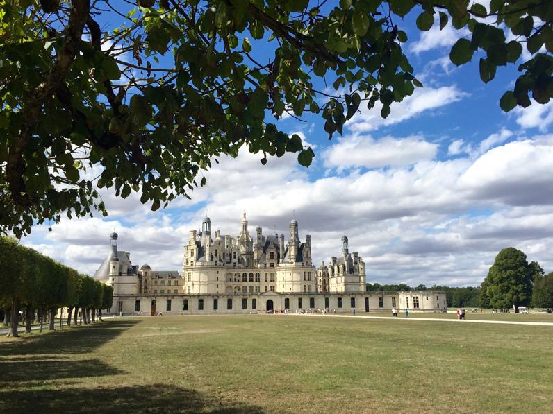 Chambord est la star des châteaux de la Loire