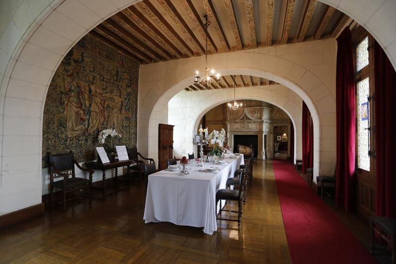 Les appartements du château de Chaumont-sur-Loire