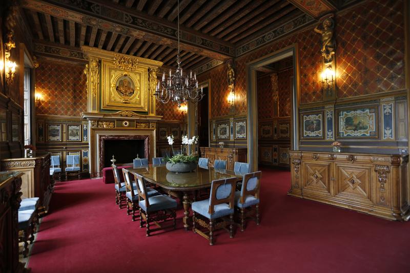 Intérieur du château de Cheverny