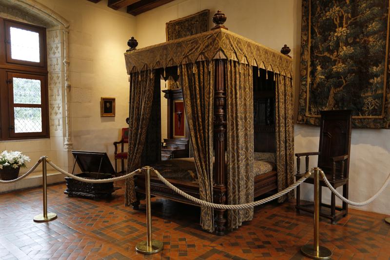 La chambre Henri III du château d'Amboise