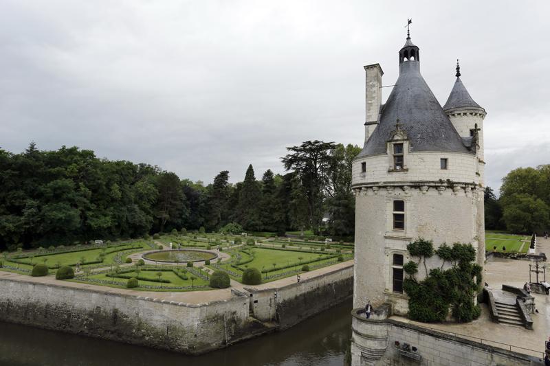 Le château-pont de Chenonceau