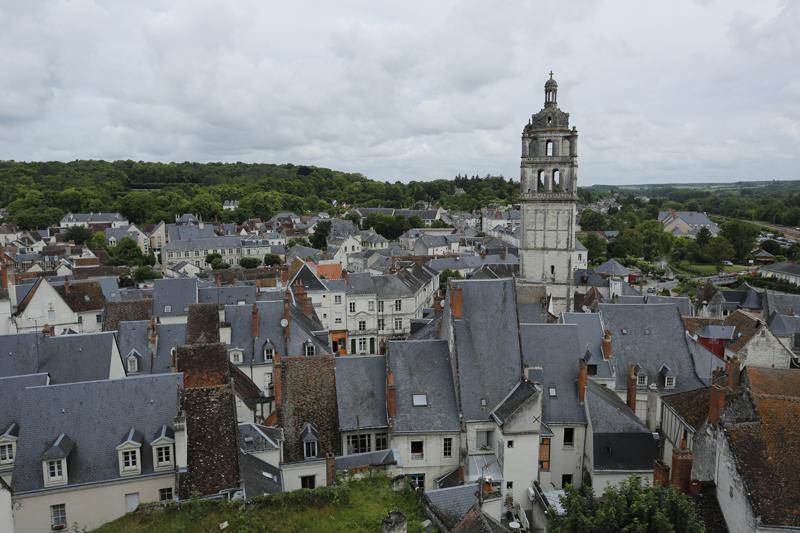 La cité médiévale de Loches en Touraine